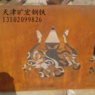 旷宏耐候钢锈钢板幕墙环保材料现货图片