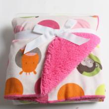 供应婴幼儿春夏季毯子短毛绒毯子TZ-001