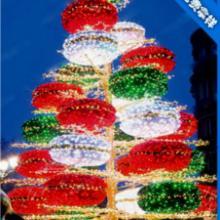 供应圣诞树前沿新颖气氛布置,发光防雨圣诞用品,节庆广告活动,商业美陈批发