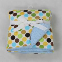 新生婴儿毯春夏秋季儿童双层短毛绒毯子云毯盖毯披风毯多功能毯卡思卡厂家批发批发