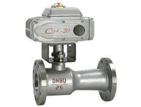 供应河南电动整体式高温球阀厂家,电动整体式高温排污球阀QJ941PPL价格