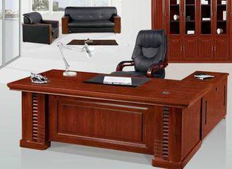 供应实木油漆大班台老板桌老板台