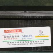 汽车电池12V电瓶6-qw-165蓄电池图片