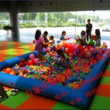 石家庄儿童海洋球池出租,沙滩球池,沙堡租赁。