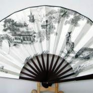北京设计工艺广告纸扇订做图片