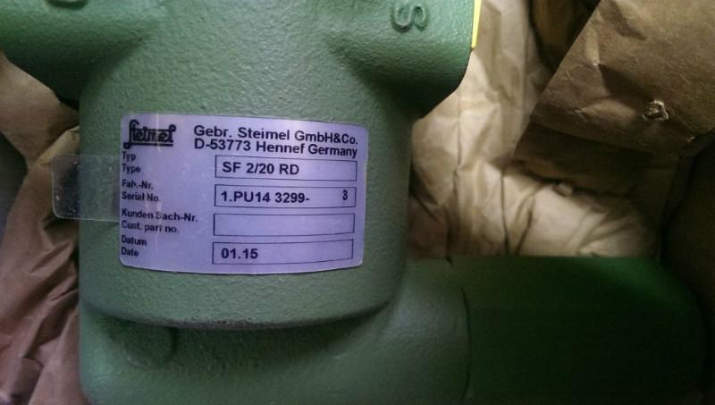 供应steimel齿轮泵SF2/20RD