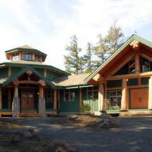供应用于度假休闲 个人 旅游开发的木屋木别墅木结构图片
