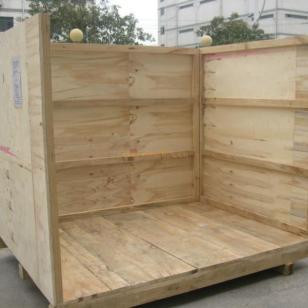 苏州木箱 大型机器包装箱 木包装箱图片