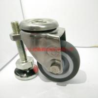 供应TF2寸TPR孔顶万向不锈钢脚轮-东莞不锈钢脚轮报价电话