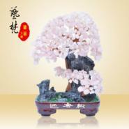 天然水晶树造型家居工艺品树脂摆件图片