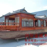 画舫游船,木船,观光船,餐饮船图片