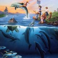 鱼漂夜光漆图片