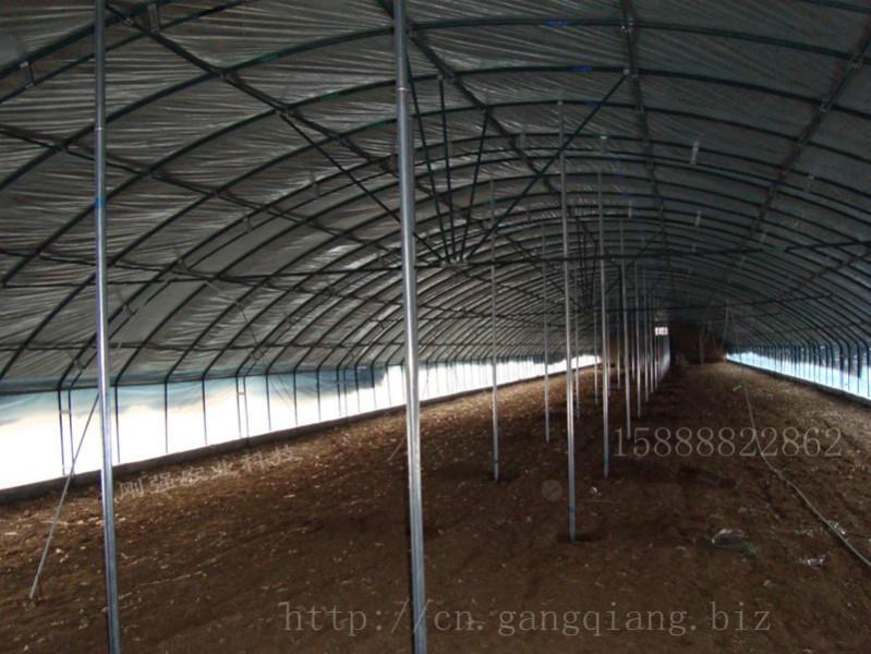 供应杭州萧山蜀山养鸭养殖大棚钢架钢管骨架支架gp932